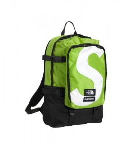 Рюкзак Supreme х The North Face S Logo Expedition Backpack Lime - Фото №2