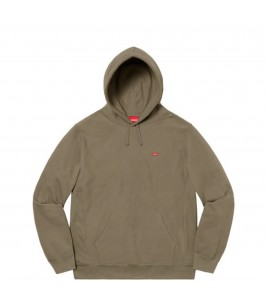 Худи Supreme Small Box Logo Olive