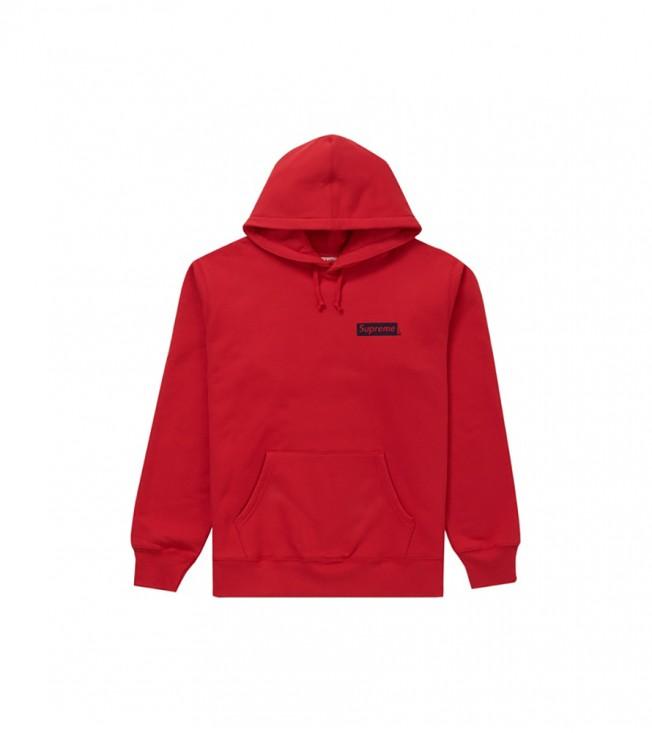 Худи Supreme Stop Crying Hooded Sweatshirt Red