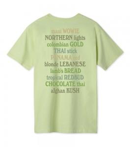 Футболка HUF T-Shirt Galaxy Strain - Фото №2