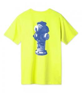 Футболка HUF T-Shirt Ollie Lime - Фото №2
