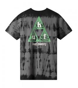 Футболка HUF T-Shirt Overgrown Black - Фото №2