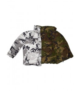 Куртка двусторонняя унисекс VETEMENTS X Canada Goose Reversible Camo Jacket