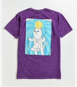 Футболка RIPNDIP Halo Purple T-Shirt - Фото №2