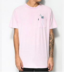 Футболка RIPNDIP Liberty Pink T-Shirt