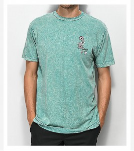 Футболка RIPNDIP Nermal Flowers Sage T-Shirt