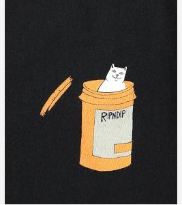 Футболка RIPNDIP Nermal Pills Black T-Shirt - Фото №2
