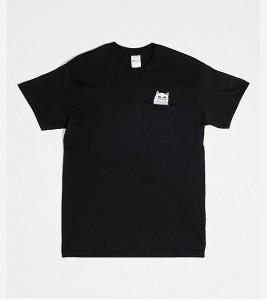 Футболка RIPNDIP Nermaphobe Black Pocket T-Shirt