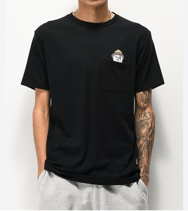 Футболка RIPNDIP Ranger-Nerm-Black-Pocket T-Shirt