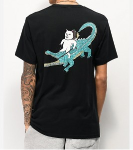 Футболка RIPNDIP Ranger-Nerm-Black-Pocket T-Shirt - Фото №2