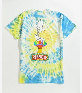 Футболка RIPNDIP Smokin Multi T-Shirt - Фото №2