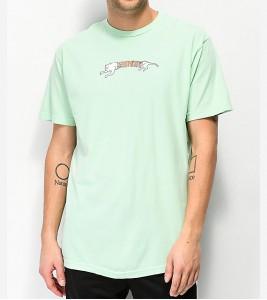 Футболка RIPNDIP Zipper Face Mint T-Shirt