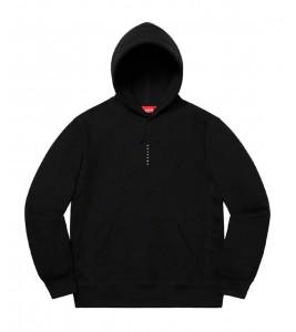 Худи Supreme Micro Logo  Black