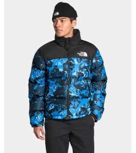 Куртка The North Face 1996 Retro Nuptse Clear Lake Blue Digi Topo Print WMNS - Фото №2
