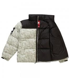 Куртка Supreme x The North Face Nuptse Jacket Paper Print - Фото №2