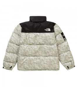 Куртка Supreme x The North Face Nuptse Jacket Paper Print - Фото №2