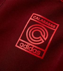 Штаны adidas Yeezy Calabasas Track Pants Maroon - Фото №2