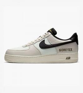 Кроссовки Nike Air Force One Low Gore-Tex White Sail Black