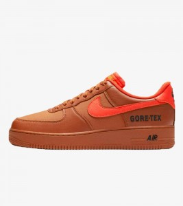 Кроссовки Nike Air Force One Low Gore-Tex Burnt Orange