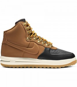 Кроссовки Nike Lunar Force 1 Duckboot 18 Tan Black