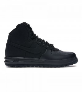 Кроссовки Nike Lunar Force 1 Duckboot 18 Triple Black