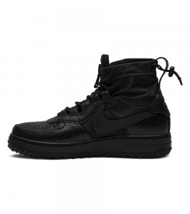 Кроссовки Nike Air Force 1 High Gore-Tex Black - Фото №2