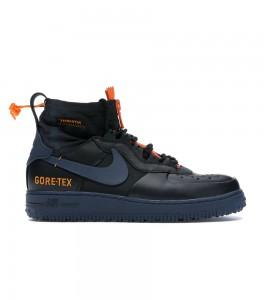 Кроссовки Nike Air Force 1 High Winter Gore-Tex Black Blue